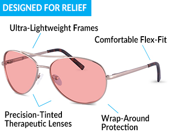 Protection And Relief With TheraSpecs Fluorescent Light Glasses